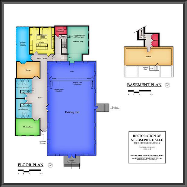 Floor Plan Poster